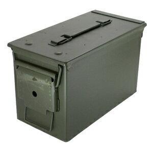軍放出品 アモカン .50キャリバー 米軍 軍払下げ品 軍払い下げ品 鉄製弾薬ケース | 弾薬箱 アンモカン AMMO CAN アンモボックス