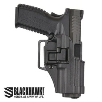 Blackhawk CQC holster SERPA Marui XDM-40 conformity [for the right] Springfield left-handed person 410507BKL Springfield XD | Serpa sherpa Blackhawk BHI