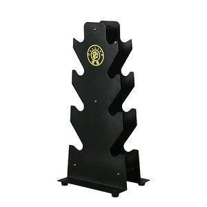ダンベルラック スチール製 4段 ダンベルスタンド 筋トレ トレーニング用品 自宅 ジム用品 おすすめ 鉄製 鉄亜鈴 鉄アレイ パワーブロック