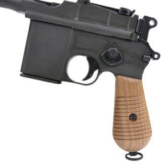 Marushin wooden grip stock Mauser M712 rubber grip gun custom parts custom grips for