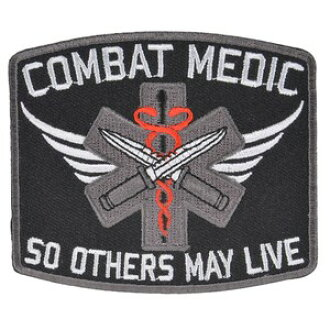 Military patch combat medic iron sheet with military emblem applique  insignia emblem lapel pin epaulettes badge chapter class: