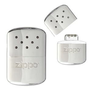 ZIPPO カイロ ハンディウォーマー オイル充填式 [ シルバー ] | ジッポー オイルライター ハクキンカイロ 白金カイロ ホッカイロ