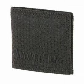 マックスペディション BFW 2つ折り財布 テフロン加工 [ ブラック ] MAXPEDITION 二つ折りウォレット パスケース