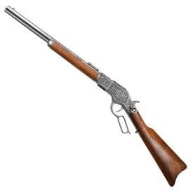 DENIX M73カービン 彫刻 ウィンチェスター 装飾銃 モデルガン 1253 G デニックス M1873 Mod.73 carb 古式銃 アンティーク銃 西洋銃 44-40口径 刻印 装飾用長銃 ライフル 火縄銃