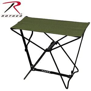 Rothco 専用ケース付 折りたたみイス [ オリーブドラブ ] 折りたたみ椅子 アウトドアチェア 折り畳みイス 折り畳み椅子 フォールディングチェア 携帯用イス 折りたたみいす 折りたたみチェア