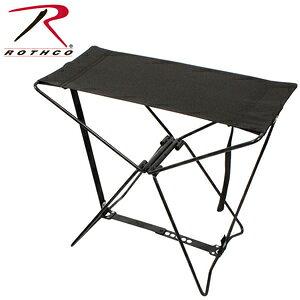 Rothco 専用ケース付 折りたたみイス [ ブラック ] 折りたたみ椅子 アウトドアチェア 折り畳みイス 折り畳み椅子 フォールディングチェア 携帯用イス 折りたたみいす 折りたたみチェア リゾー