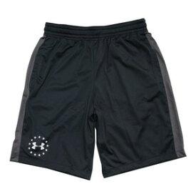 UNDER ARMOUR ハーフパンツ UA Freedom Raid 2.0 Shorts [ ブラック / Sサイズ ] アンダーアーマー ショーツ メンズ ショートパンツ 半ズボン 半ずぼん ランニング アウトドア スポーツウェア ウォーキング