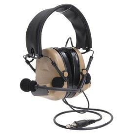Z-Tactical タクティカルヘッドセット COMTAC II モデル HQ Z044 [ ダークアース ] Z-TAC マイク付き イヤーマフ 耳当て ヘッドフォン NAVY SEAL SWAT RANGER 電子防音イヤーマフ 電子式防音イヤーマフ エレクトリックイヤーマフ 電子防音イヤマフ 電子式防音イヤマフ