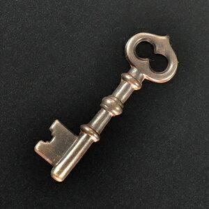 チャームパーツ スケルトンキー DP401 真鍮アクセサリー|ブラスキーホルダー メンズ チョーカー ペンダントヘッド 鋳物 鋳造