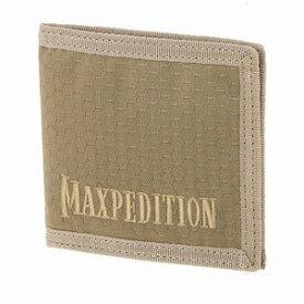 マックスペディション BFW 2つ折り財布 テフロン加工 [ タン ] MAXPEDITION 二つ折りウォレット パスケース