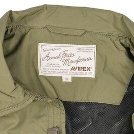 AVIREXミリタリージャケットジャングルファティーグポリエステル6162115[オリーブ/Lサイズ]アビレックスアヴィレックスアーミージャケットメンズ上着