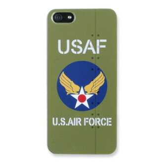 Iphone 5 Case Us Air Force Pen With Od Camouflage Hard Print Mobile Cell Phone Holder Smahocase Smart