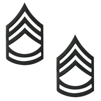 Rothco pin 1605 military class chapter 2, Sergeant black pins military  badge batch military insignia emblem lapel pin epaulettes badge chapter  Chevron