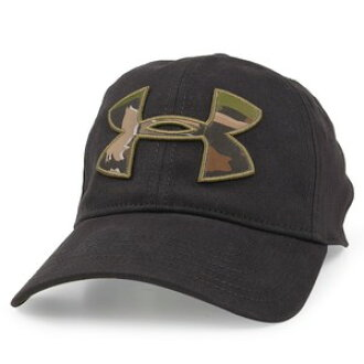e2b7d239d44 Under Armour camouflage logo cap 1282396-free fitting black Under Armour  duck Camo heat gear hat Free Fit baseball cap baseball cap men work cap hat  ...