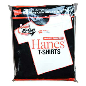 Hanes Tシャツ 半袖 無地 3枚組み レッドパック HM2135G [ Sサイズ ] ヘインズ タグレス アーミーシャツ アサルトシャツ TDUシャツ
