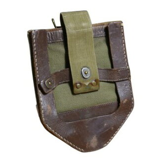 Shovel cover shovel cover scoop case military vintage forces thing for the Netherlands military-releasing article scoop cover old model folding shovel