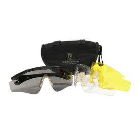 米軍放出品 REVISION シューティンググラス MVD アイシールド 防弾グラス [ 並品 ] リビジョン 払下げ品 射撃用サングラス 射撃用メガネ 保護メガネ セーフティーグラス セーフティグラス 保護眼鏡 保護めがね 安全メガネ 作業用メガネ ミリタリーサープラス