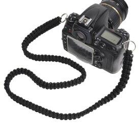 カメラストラップ パラコード製 キーリング付き パラコードストラップ パラコードアクセサリー カメラホルダー ショルダーストラップ パラコードキーホルダー パラコードキーリング パラコードキーチェーン