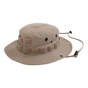 Rothco ブーニーハット ドットボタン [ タン / Lサイズ ] ジャングルハット ベースボールキャップ 野球帽 メンズ ワークキャップ ミリタリーキャップ