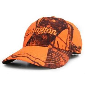 レミントン 野球帽 ブレイズカモ ロゴ入り Remington ベースボールキャップ メンズ ワークキャップ ハット ミリタリーキャップ
