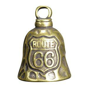 ペンダントトップ 鐘 ROUTE66 チャーム 鈴 黄銅 ネックレス 真鍮 ブラスキーホルダー メンズ チョーカー ペンダントヘッド 鋳物 鋳造