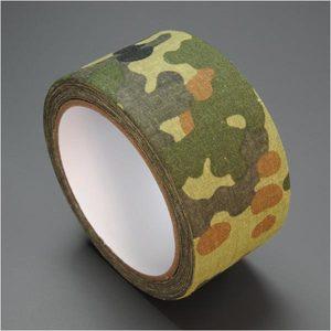 カモフラージュテープ ウッドランドカモ Bタイプ [ 3m ] カモフラテープ 迷彩テープ カモフォーム カモテープ 保護ラップ