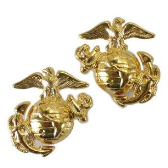 Rothco military badges-Marine Corps emblem 2 1548 screw marine | Pins batch  military insignia emblem lapel pin epaulettes badge chapter Chevron arms