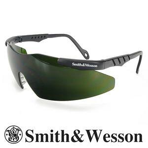 S&W 遮光めがね マグナム ダークグリーン 遮光度5 フィルターレンズ 遮光レンズ ガス溶接メガネ | スミス&ウェッソン スミス&ウエッソン IRサングラス 溶接めがね 遮光メガネ