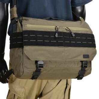 5 11 Tactical Rush Messenger Bag Black M Size Mens 511 Shoulder Casual Military Canvas Also