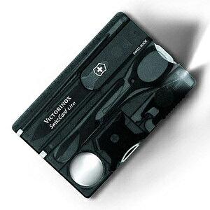 VICTORINOX マルチツール 0.7322.T2 スイスカードライトT2 BL [ ブラック ] Victorinox SwissCardLite ツールナイフ 十徳ナイフ キャンピングナイフ 万能ナイフ カードツールナイフ カードナイフ ナイフカー