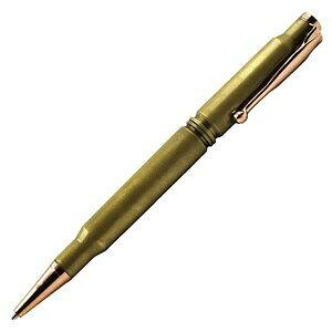 弾丸ボールペン UZI 真鍮製 ゴールド ディフェンスペン 高級ボールペン ギフト お祝い プレゼント クボタン 筆記具 タクティカルペン 護身用ボールペン アルミペン アルミボールペン 金属製