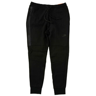 NIKE TECH FLEECE PANTS 545343 011耐吉技術fleece褲子黑色運動衫錐形