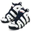 【メンズ】NIKE AIR MORE UPTEMPO 414962 104 ナイキ モア アップテンポ オリンピック スニーカー シューズ 靴 WHITE/MIDNIGHT NAVY-METALLIC