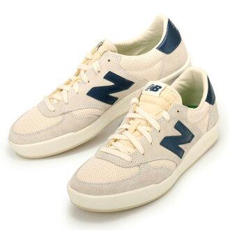 新平衡 CRT300WA 新平衡鞋运动鞋 300 灰色白色海军
