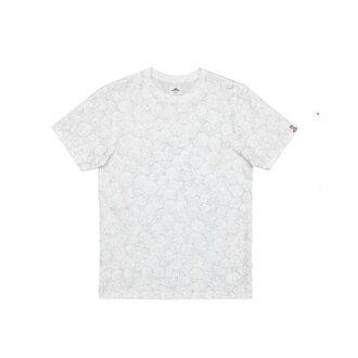 X 隆村上春树三通货车村上隆合作头骨 T 衬衫白色面包车