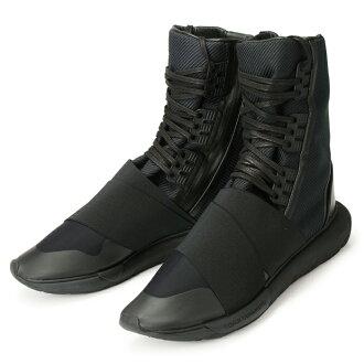adidas Y-3 QASA BOOT BB4802 YOHJI YAMAMOTO CBLACK/CBLACK/CBLACK Adidas Weiss Lee cursor boots toothpick Yamamoto black ★★