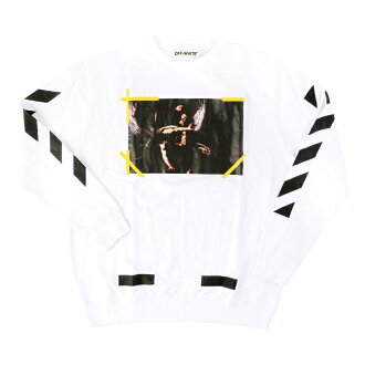 OFF-WHITE 7 OPERE CREWNECK off-White Opera print sweat trainer white white long sleeve