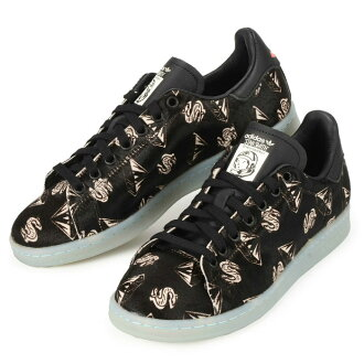 adidas×PHARRELL PW STAN SMITH PONYHAIR S32038愛迪達協作法雷爾Stan Smith黑色鞋運動鞋