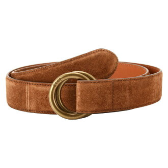 POLO by Ralph Lauren O-ring Suede Belt Polo Ralph Lauren O ring belt suede leather belt Brown