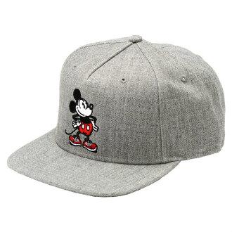 客货车米奇老鼠业绩回升帽 VN 02UCH9Y 面包车迪斯尼合作米奇业绩回升灰色帽子帽