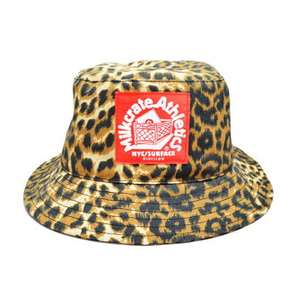 Milkcrate Athletics SAFARI BUCKET HAT mirukureitoasuretikkusubakettohattoreopado豹花紋帽子
