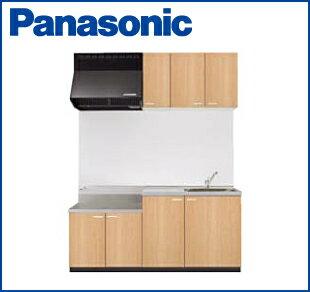 パナソニック APキッチン コンパクトキッチン テーブルコンロタイプ 間口1650mm 吊戸棚高さ500mm 扉シリーズ10(配送先関東のみです)