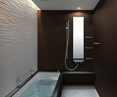 TOTOバスルーム シンラ Eタイプ マンション住宅向け 1418サイズ 基本仕様 WXQ1418UEX1