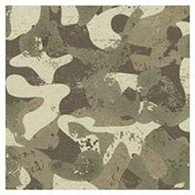 壁紙 のり付き 切売 クロス カモフラ 迷彩 アーミー カモ柄 シンコール BA-3181 1m単位 壁紙の上から貼れる壁紙 下敷きテープ付き (REROOM)