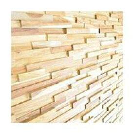 ウッドパネル 壁 ウォールパネル DIY 無垢材 天然木 アクセント パネル 粘着テープ 付 貼り付けるだけ 14枚セット