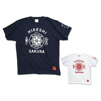 HIKESHI SAKURA T shirt (999-2381):RESCUE SQUAD [rescue squad]
