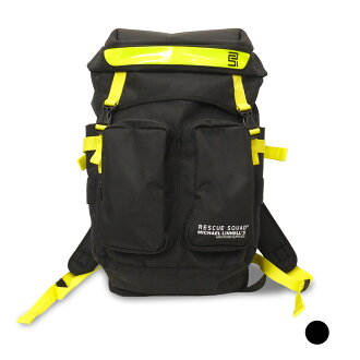 RESCUE SQUAD X Michael Linnell (Michael linen) double-pocket family backpack [ML-017]