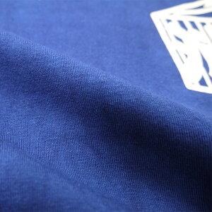藍染OD火消抜染Tシャツ
