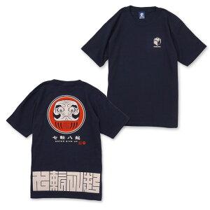 七転八起抜染スラブTシャツ