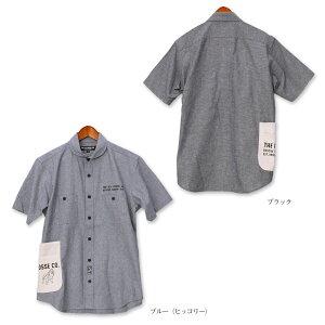 TPCシャンブレーショールカラーシャツ